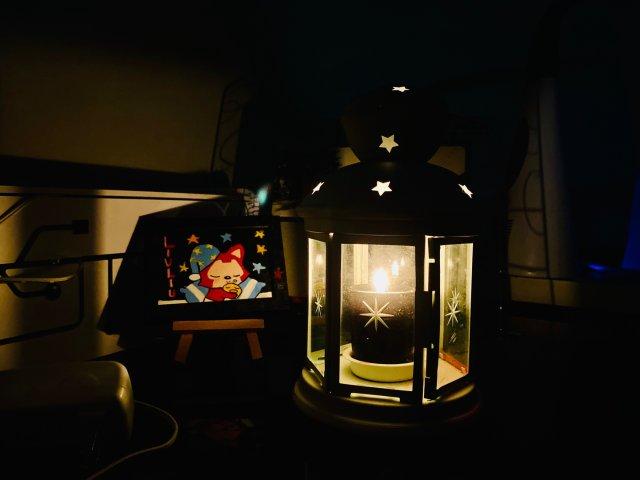 睡前小物·葡萄柚香薰蜡烛💕💕💕