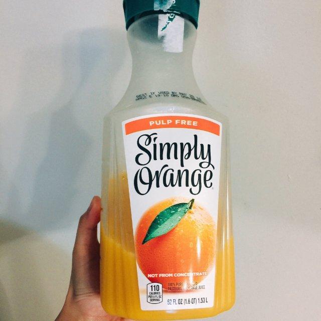 很好喝很健康的一款橙汁,由于是无添...