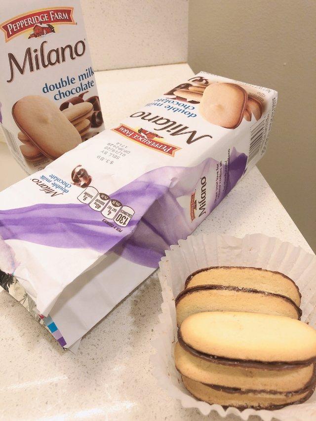 Milano 巧克力夹心饼干|最好...