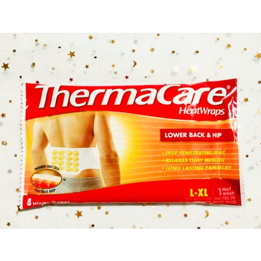 ThermaCare 腰背部热敷带