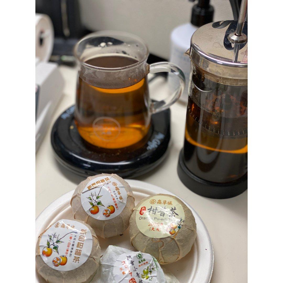 柑吉普洱茶、你喝過沒有?
