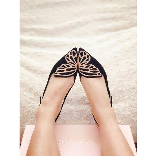 Sophia Webster矮跟蝴蝶鞋