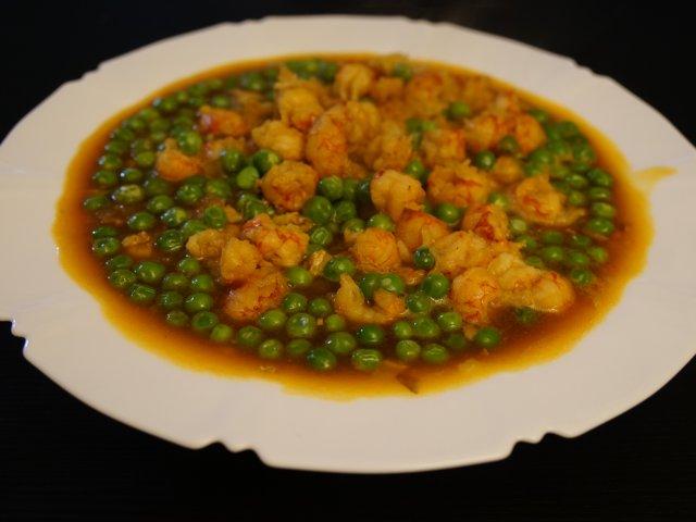 晚餐吃什么|甜豆茄汁小龙虾