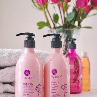 🌹充满夏日香气的洗护:Luseta玫瑰精油系列🌹
