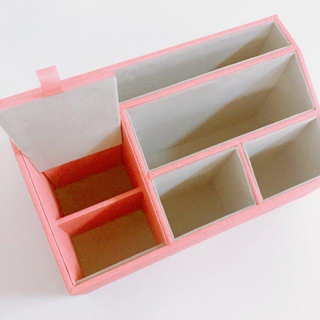 想要桌面整洁就买收纳盒