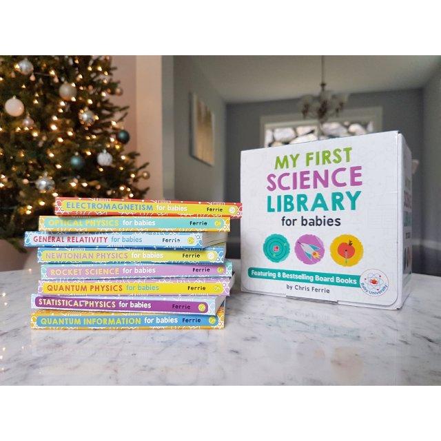 圣诞小礼物推荐之送小BB的科学启蒙书