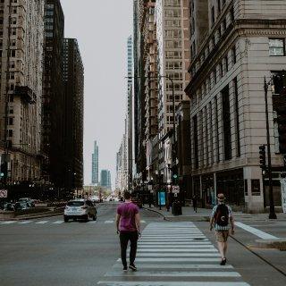 四月 | 城市漫游...