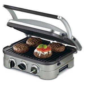 $57.77 (原价$184.99)Cuisinart GR-4N 5合1 烤肉机