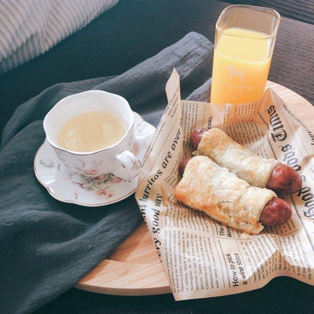 女汉子也可以来一个白富美的早餐