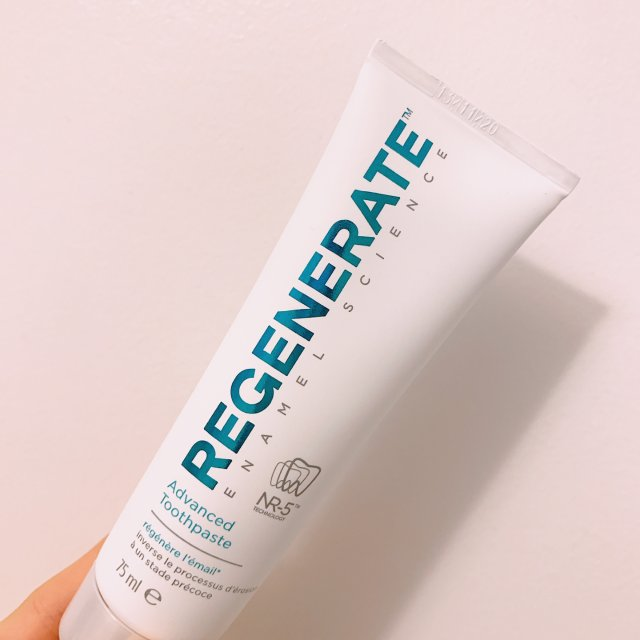 🦷修复牙釉质的好用牙膏Regene...