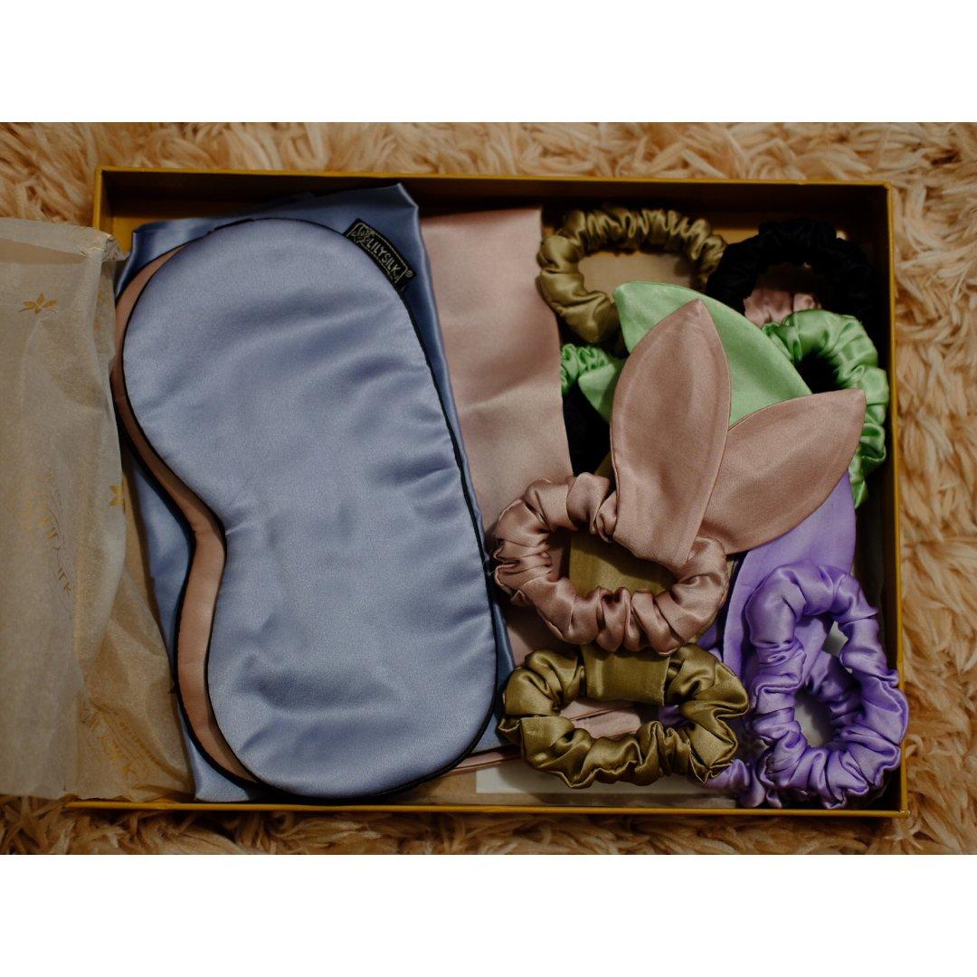 Lily家的枕套和眼罩