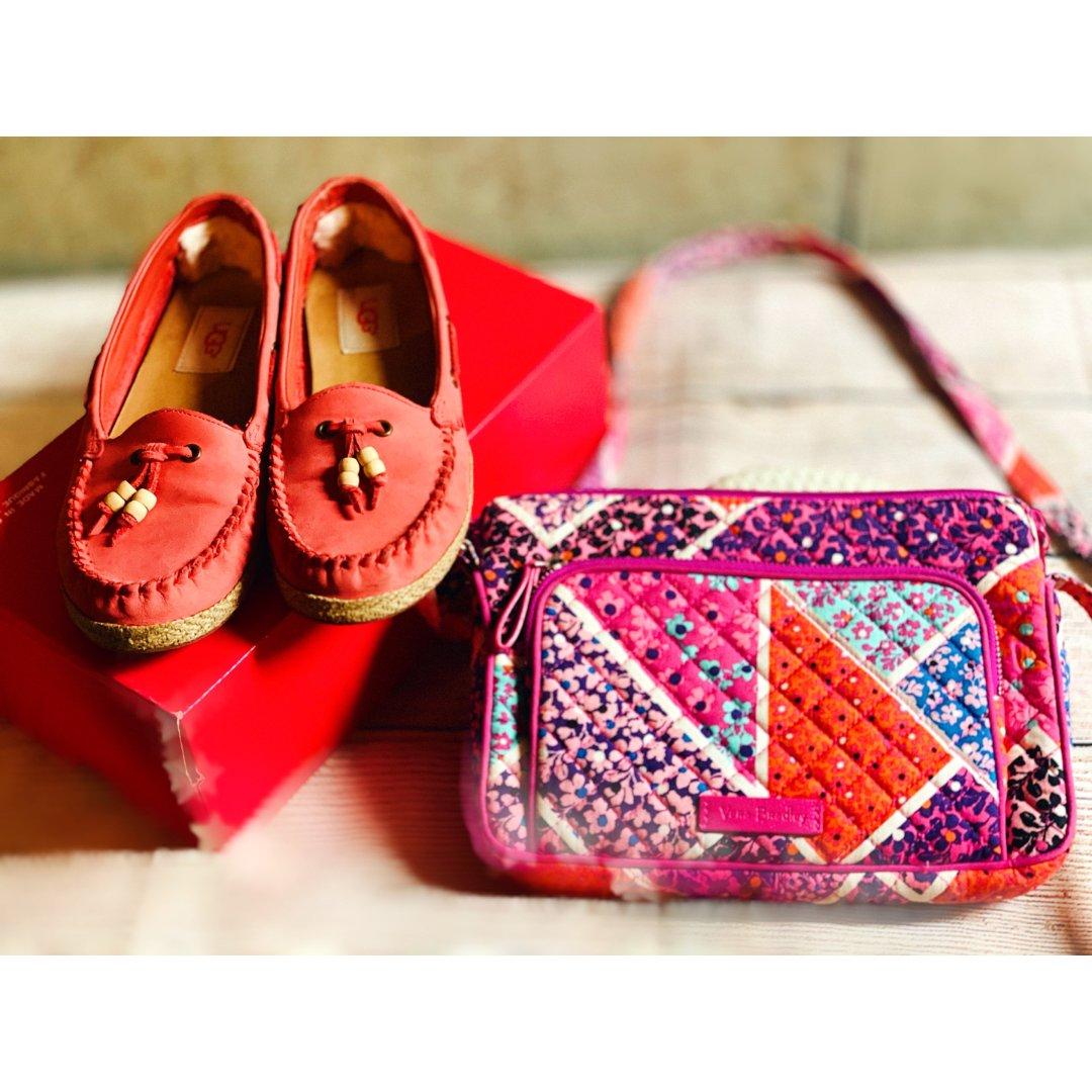 包包鞋子一个色2⃣️:粉红色系