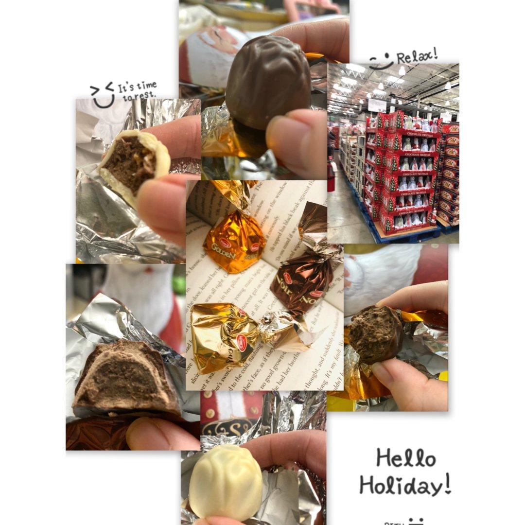 Costco节日巧克力
