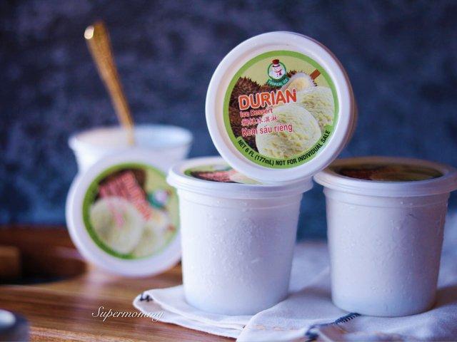 ❤️榴莲控一吃就会爱上的冰淇淋❤️
