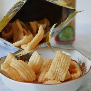 松化可口,Crab Chips,零食不能停