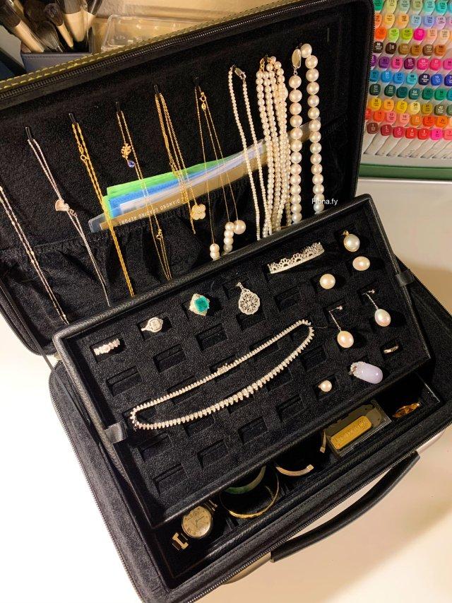 🍑宝买的首饰盒(箱),珠宝终于有个...
