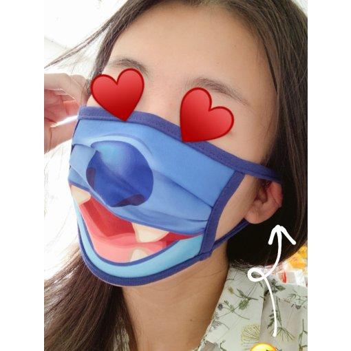 戴口罩也要可可爱爱💕