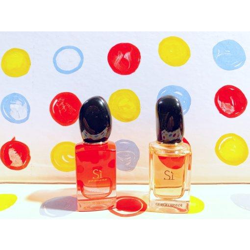 两个小可爱💝阿玛尼Sì/Sì Passione女士香水