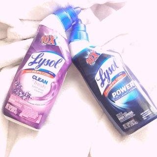 Lysol浴室杀菌消毒好帮手...