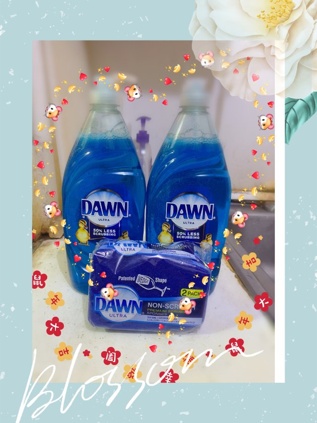 dawn洗碗液!