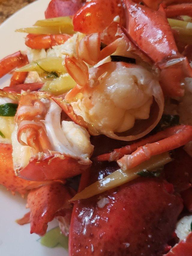 一日三餐吃什么之---姜葱龙虾