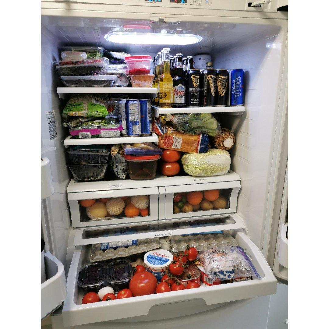 超能吃的两口之家的冰箱囤货😂