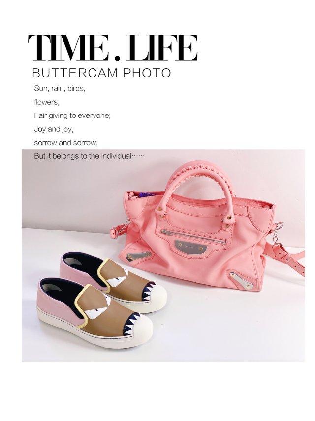 【包包鞋子一个色4⃣️】少女💕粉色系