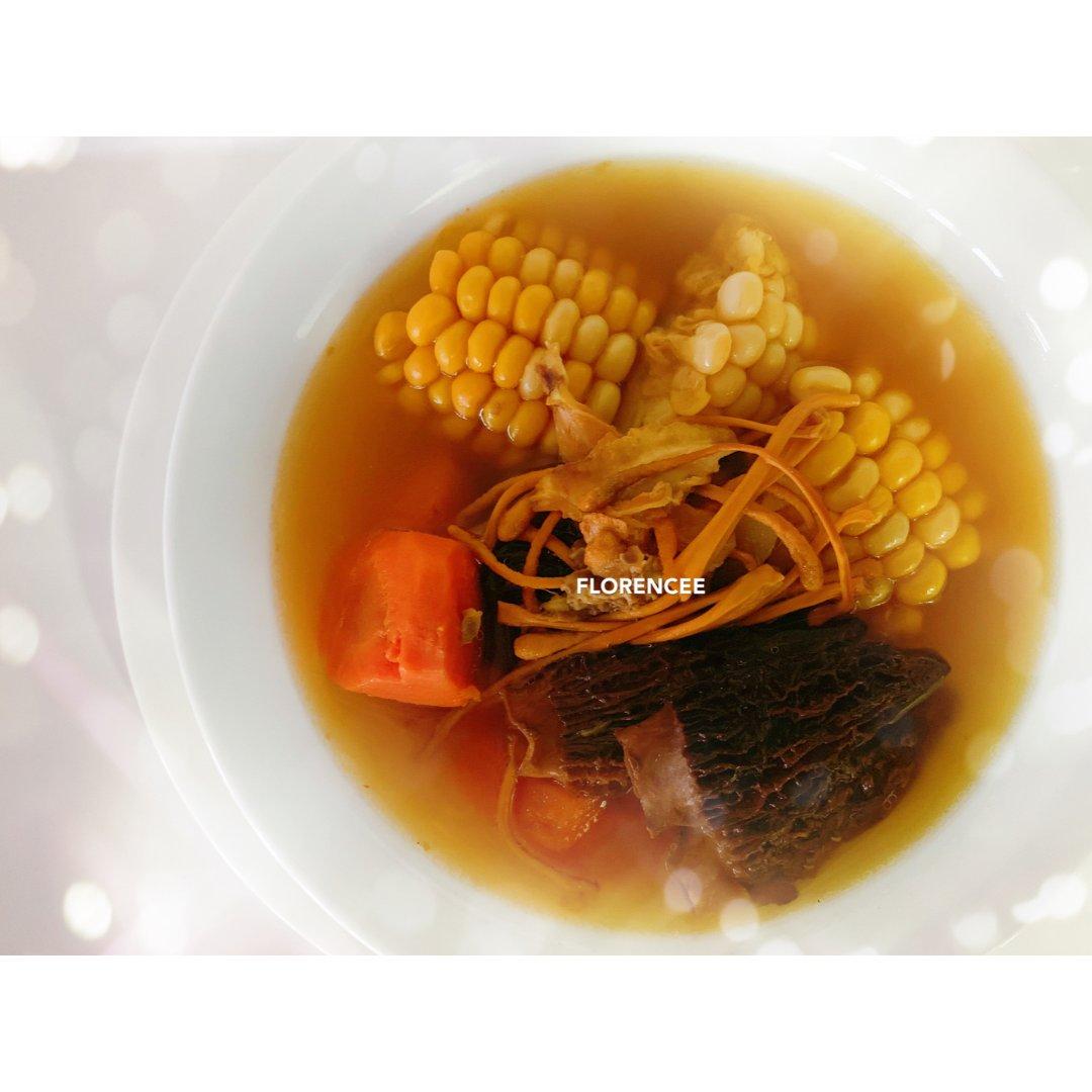 晩餐吃什么🤔 老火汤 + 素食