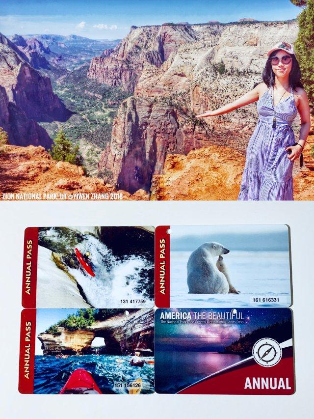 广泛使用的国家公园年卡 & 免费4...