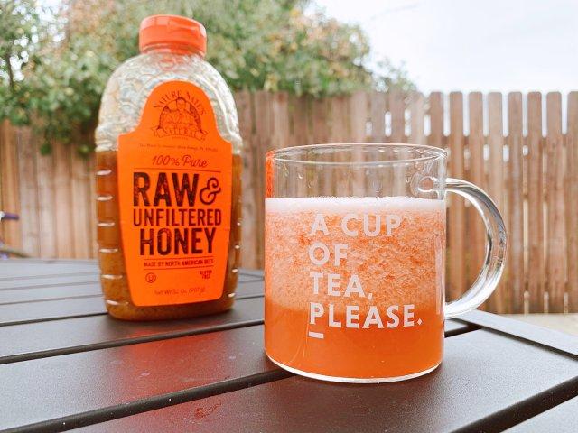 美颜减脂 | 胡萝卜番茄蜂蜜汁
