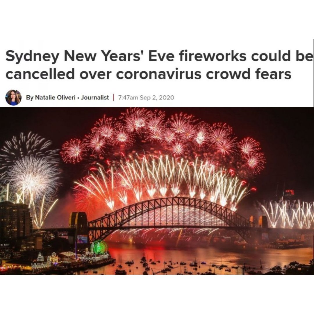 2021悉尼新年烟花秀又悬了吗?...