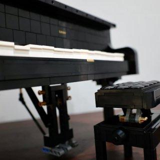 Lego Grand Piano乐高可以...