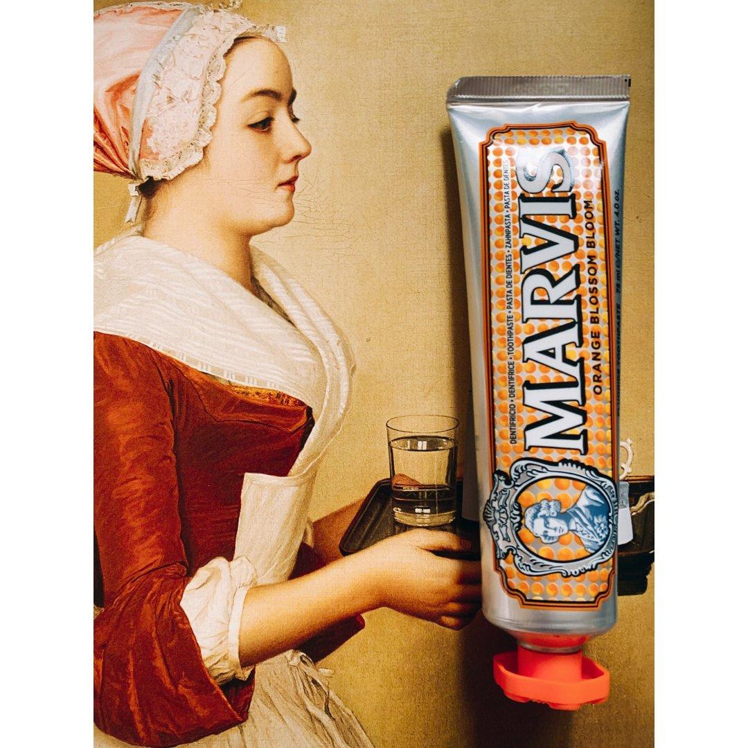Marvis 来自翡冷翠的橙花味牙膏