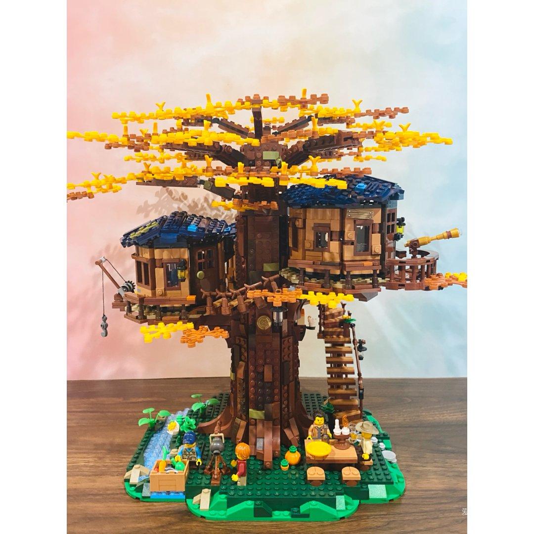 乐高树屋·秋季的颜色