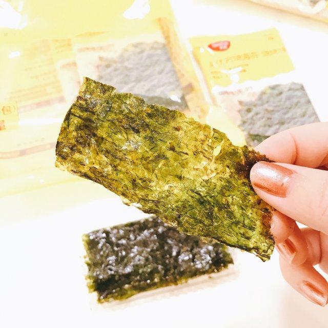 减肥零食|香香脆脆的海苔片😋