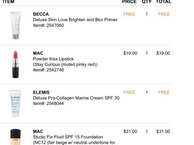 口红节Mac买了什么2