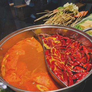 番茄锅底,麻辣锅底
