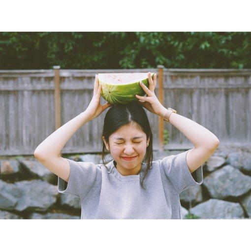 吃瓜🍉少女的夏天 | 偶遇巨型西瓜
