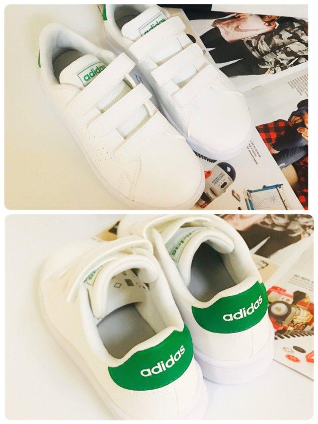 百搭必备/Adidas 小白鞋.