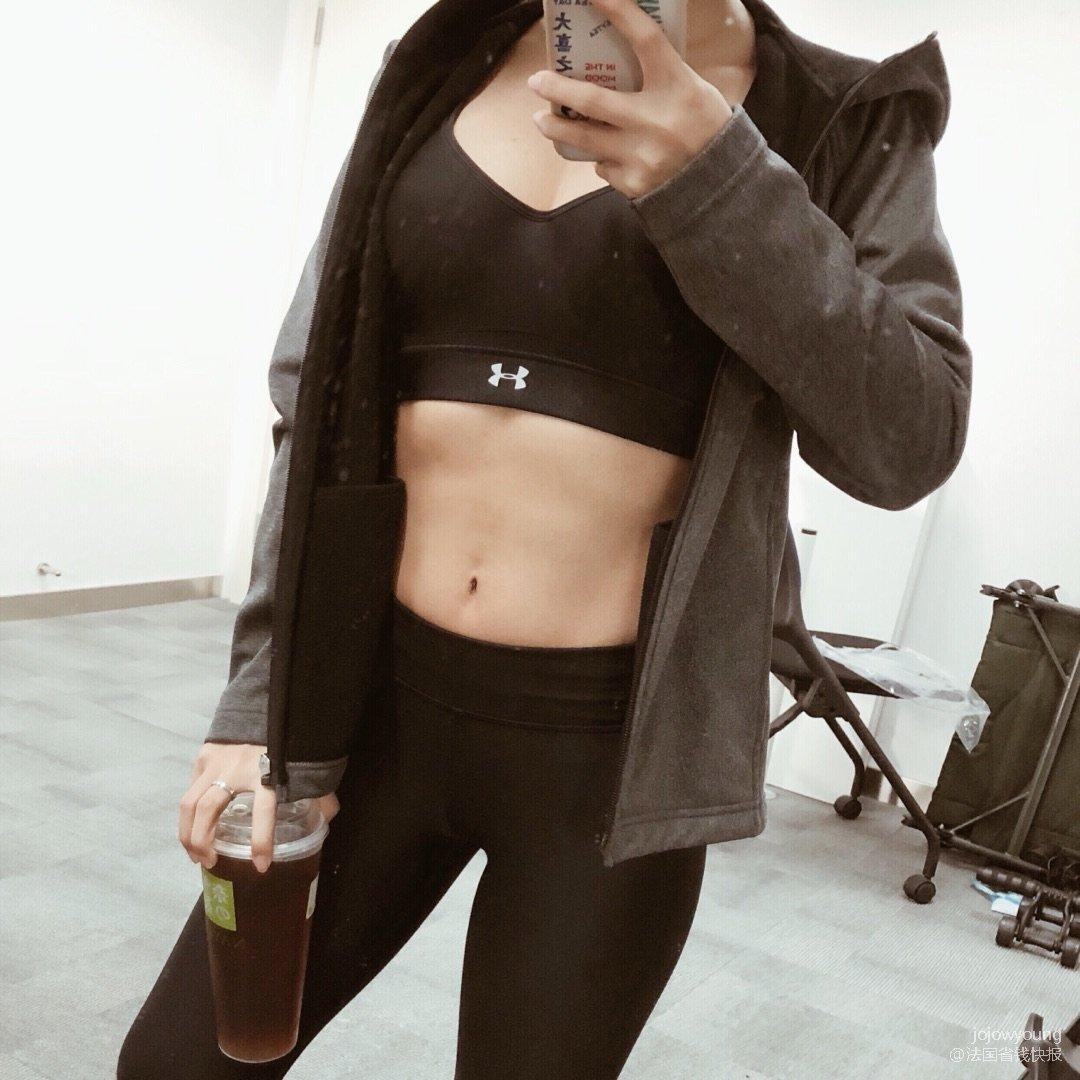 穿什么显瘦?当然是运动装显瘦!
