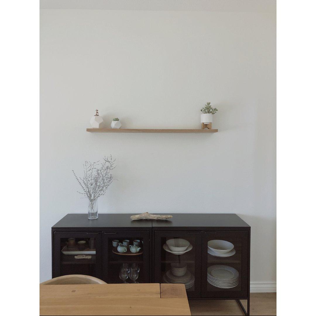 宅家DIY 做一個質感木架擺放綠植們🌵