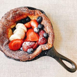 查的brunch| 荷兰松饼🥞超级简单😋...