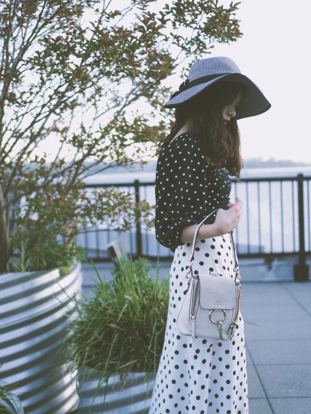 波点女孩的夏天 | 简简单单黑白穿搭