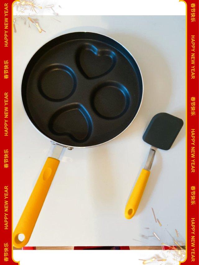 五分钟快速早餐丨可爱造型煎锅