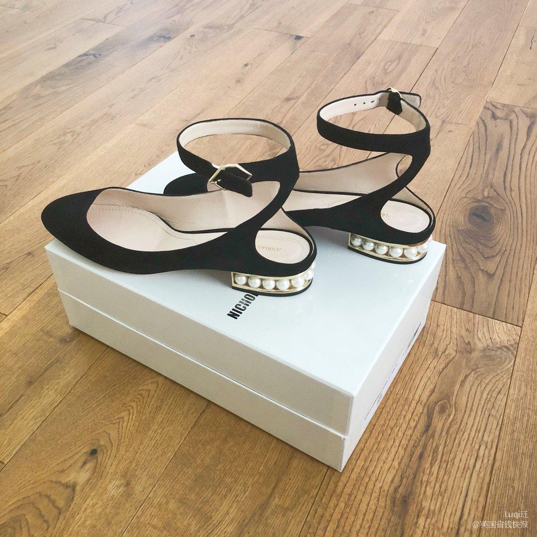 珍珠鞋真的太爱了!美的不行不行!c...