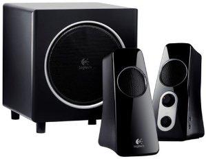 $49Logitech Speaker System Z523 with Subwoofer