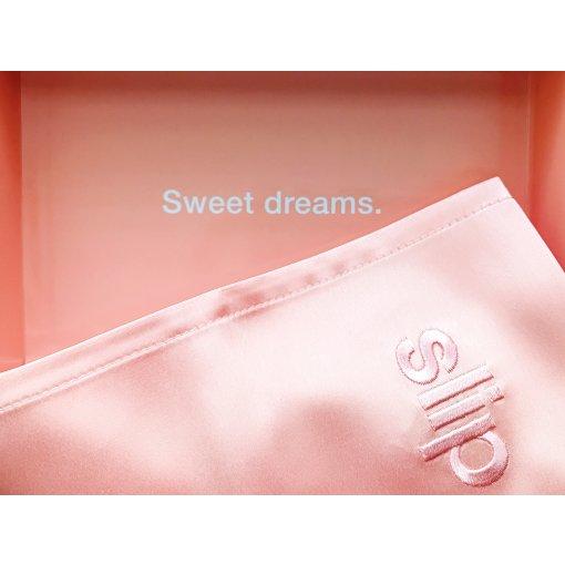 Slip真丝枕套|做一个粉色的梦