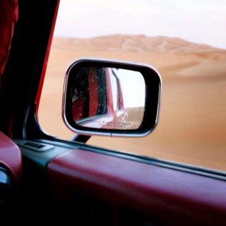 迪拜 #沙漠里的摇滚...