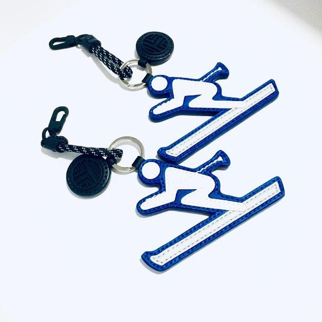 钥匙链 | 没法天天滑雪⛷,只能望着止渴