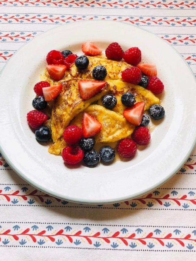 早餐吃什麼 超簡易French t...